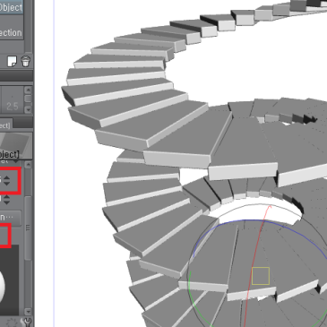 3D 오브젝트-계단