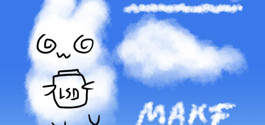 클립 스튜디오 구름 브러시