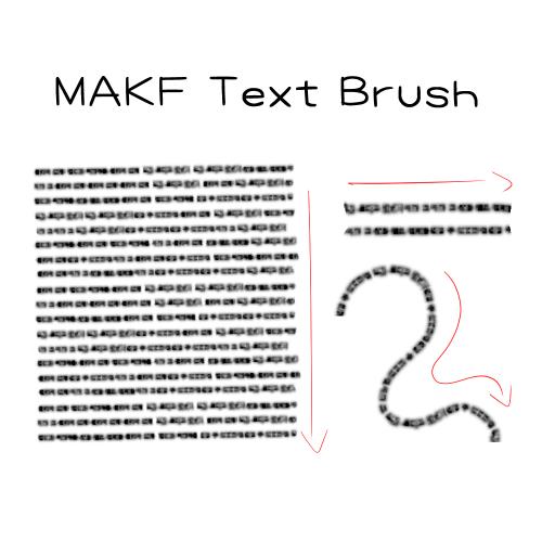 MAKF Text Brush Thumbnail 2